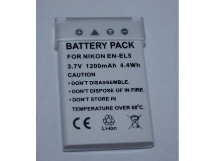 Bateria Para Câmera Nikon 1200mah 7.4v En-El5