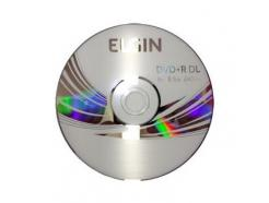 DVD+R 8.5GB ELGIN DUAL LAYER COM LOGO 8X COM 25 UNIDADES