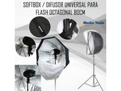 Softbox Greika Flash Universal Octagonal 80cm