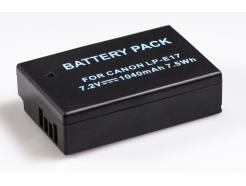 Bateria Para Câmera Canon Eos Rebel T6i E T6s 1040mah 7.2v 7.5wh Lp-E17