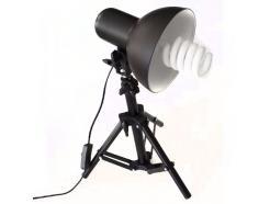 Kit Iluminador Greika 17cm Com Tripé 45cm E Lâmpada 5.500k / 45w / 220v Pk-L45