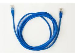 Cabo De Rede Categoria 5 Ethernet Azul 10m