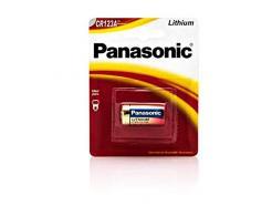 Pilha Bateria Panasonic Para Foto Lithium 3v Cr123a
