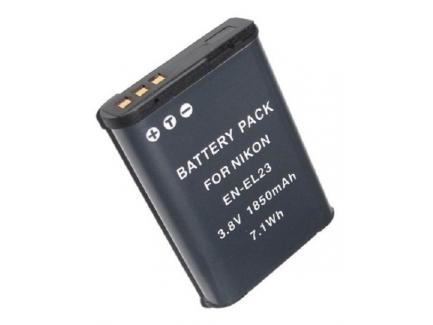 Bateria Para Câmera Nikon 1850mah 3.8v 7.1wh En-El23 *Promoção*