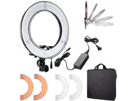 ILUMINADOR LED CIRCULAR RING LIGHT PARA MAQUIAGEM GREIKA RL12 MOD48 35CM *Promoção*