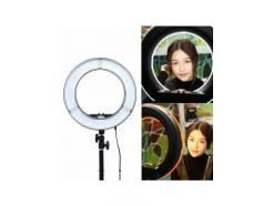 Iluminador Led Ring Light 35cm Foto Make Greika com Tripé 2m Rl12 - DE R$ 599,00 POR: