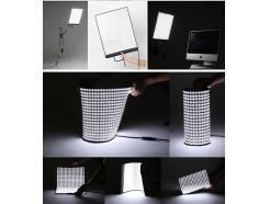 Iluminador Led Painel Flexível Roll Flex Rx-12t - F&V