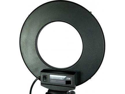 ILUMINADOR LED CIRCULAR RING LIGHT PARA CELULAR 25W / 6000K / 27CM