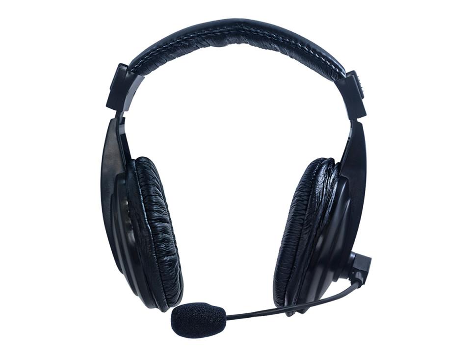 d05b281e4 FONE DE OUVIDO COM MICROFONE HARDLINE CONFORT VIA 750 PRETO - Media ...