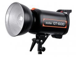 FLASH / TOCHA ESTÚDIO GODOX ALTA VELOCIDADE COM REFLETOR 600W / 220V QT-600
