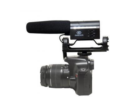 Microfone Para Câmera Dslr Greika Direcional Gk-Sm10 - DE R$ 399,00 POR: