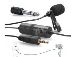 Microfone Lapela Greika Para Celular Youtube Gk-Cm1 Com Fio 6m *De R$ 259,00 Por: