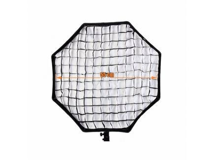 Kit Iluminação Estúdio Youtube Greika Octabox 60cm 220v Grid E Bolsa Ágata Iii *De R$ 1.329,00 Por: