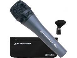 Microfone De Mão Sennheiser Profissional Dinâmico Cardióide Evolution E835