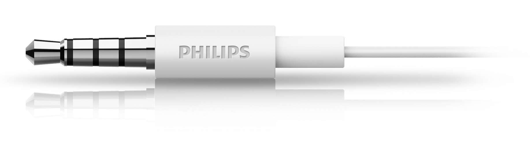 Fone De Ouvido Com Microfone Philips She1405wt 94 Branco Media Jgos17 In Ear Headphone With Mic She1405 Black