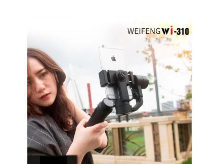 Gimbal Estabilizador De Vídeo Para Celular Smartphone Weifeng 3 Eixos Wi310