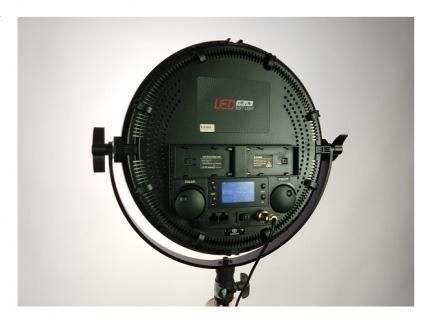 Iluminador Led Circular Para Maquiagem Soft Pad Light 36w 5600k R-S36/60b Greika