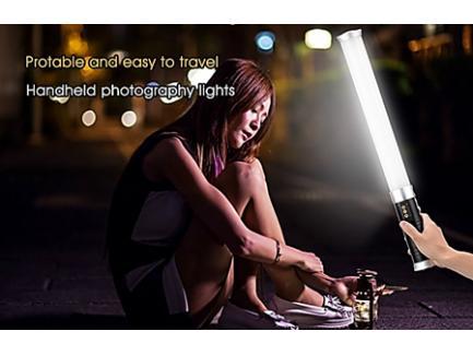 Iluminador Led Bastão Light 2,4g Greika Tubular Sabre De Luz St-312 *Sob Encomenda*