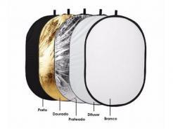 Rebatedor Oval Retangular 5 Em 1 De 90x120cm