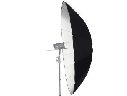 Sombrinha Refletora Rebatedora Estúdio Branca Preta Large Umbrella White 180cm *De R$ 699,00 Por: