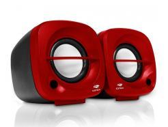 Caixa De Som C3tech 3w Speaker Sp303rd Vermelha