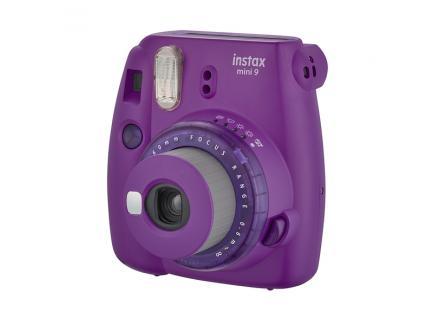 Câmera Fujifilm Instantânea Instax Mini 9 Roxo Açaí *Promoção*