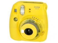 Câmera Fujifilm Instantânea Instax Mini 9 Amarelo Banana - DE R$ 499,00 POR: