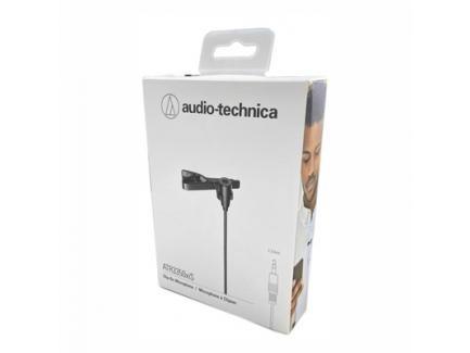 Microfone Lapela Audio-Technica Para Celular E Câmera Com Fio Atr3350is *De R$ 399,00 Por: