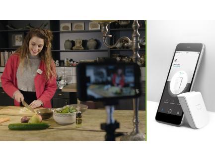 Microfone Lapela Sennheiser Para Celular Bluetooth Com Presilha Memory Mic