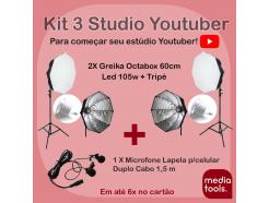 Kit Studio Youtuber Media Tools