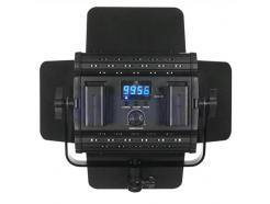 Iluminador Led Greika Com Controle Remoto, Bateria E Carregador Hs600mb Pro
