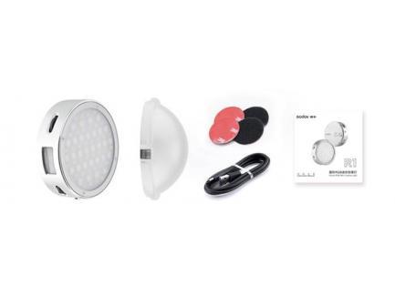 Iluminador Led Godox Mini Rgb 2500k A 8500k 5w 14 Efeitos R1 Greika *De R$ 1.112,00 Por: