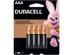 Pilha Duracell Alcalina Aaa 1,5v Pequena Com 8 Unidades