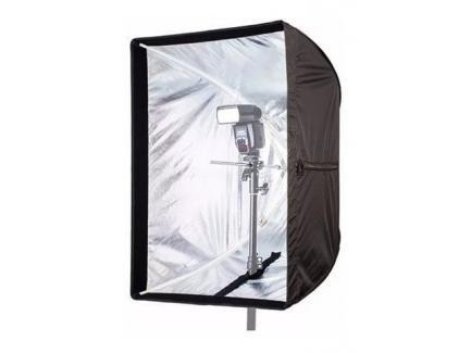 Softbox Sombrinha Greika Flash Ou Luz Contínua Universal 50x70cm *De R$ 189,00 Por: