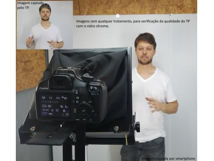 Teleprompter Para Celular Câmera Tablet Até 11