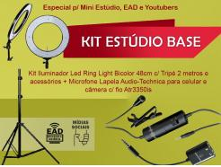 Kit Estúdio Base Media Tools *De R$ 1.698,00 Por: