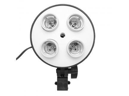 Kit Softbox Iluminador Estúdio Youtube Greika 60x60cm Sem Lâmpada