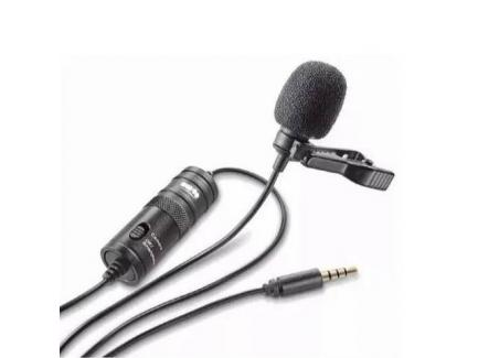 Microfone Lapela Greika Com Adaptador Usb E Cabo 6m Gk-Lm1-Usb *De R$ 299,00 Por: