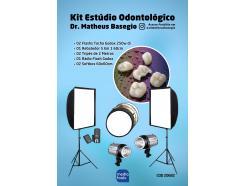 Kit Estúdio Fotografia Odontológica 500w Digital Dr Matheus Basegio