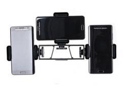 Suporte Celular Smartphone Triplo Live Gravações Vídeo Aula Ph-3 Greika