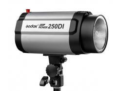 Flash Tocha Estúdio Godox 110v Mini Pioneer 250di