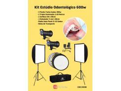 Kit Estúdio Fotografia Odontológica Godox 600w