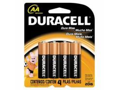 Pilha Duracell Alcalina Aa 1,5v Mn1500 Com 4 Unidades