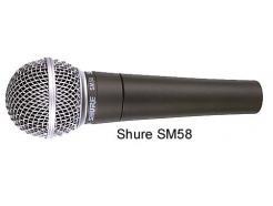 MICROFONE PROFISSIONAL SHURE COM FIO SM58-LC