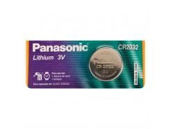 Pilha Bateria Panasonic Lithium Tipo Moeda 3v Cr2032-1bt