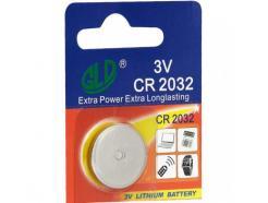 Pilha Bateria Lithium Tipo Moeda 3v Cr2032
