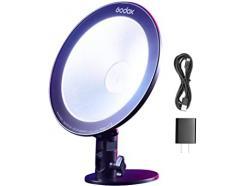 Iluminador Led Vídeo Light Godox Para Webcast Rgb Cl10