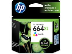CARTUCHO COLORIDO HP664XL F6V30AB 8ML - HP