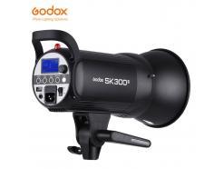 FLASH TOCHA ESTÚDIO GODOX COM REFLETOR 300W 220V SK 300 II